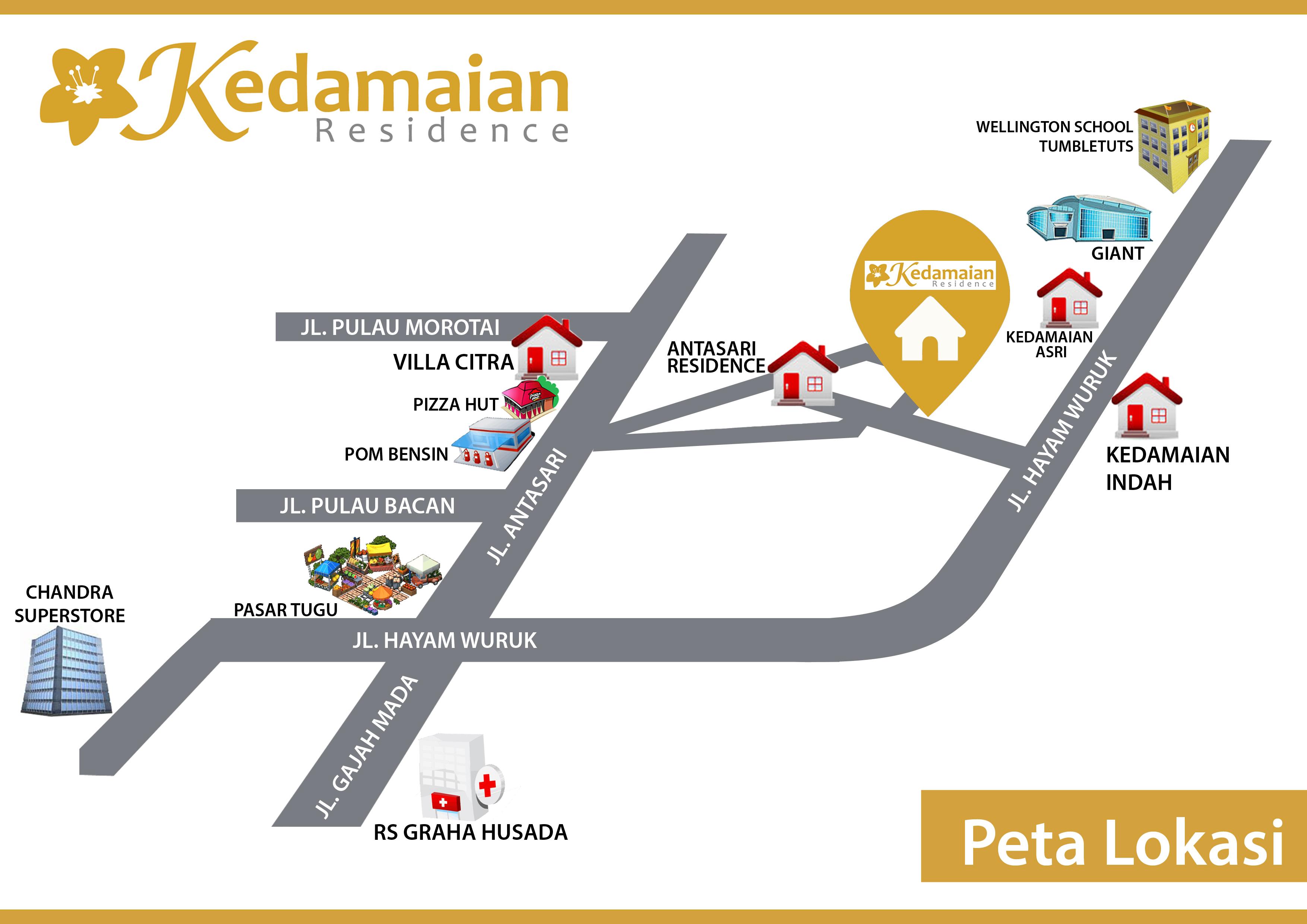peta Kedamaian Residence_rev